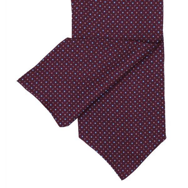 Cravate en soie rouge bordeaux
