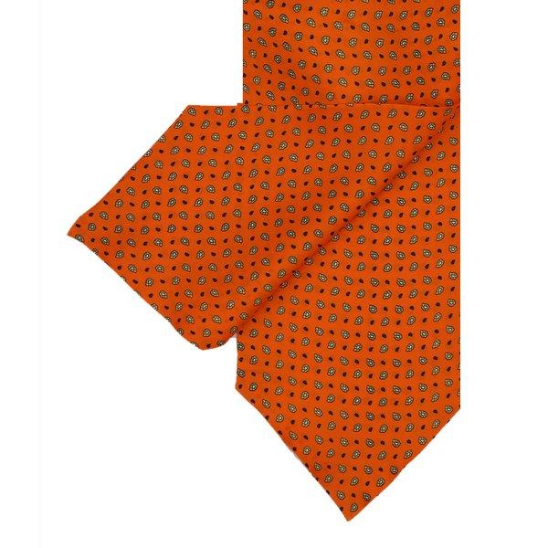 Orange Silk  Cravat