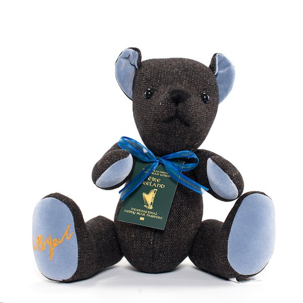 W B YEATS BEAR - Medium Brown