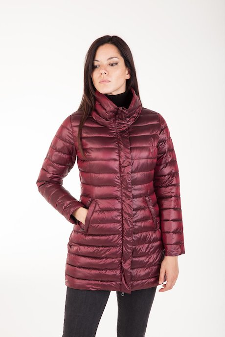 Down Jacket Wide Collar