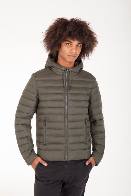 Down Jacket Mat Fabric with Hood