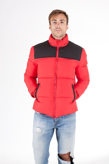 Down jacket block colour