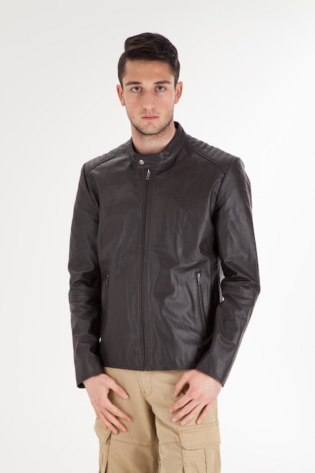 Man's leather jacket - JMPATIPSES