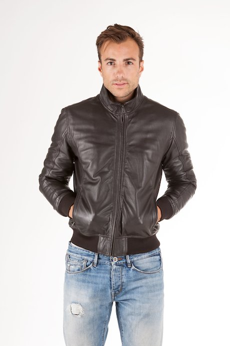 Leather Bomber Wham