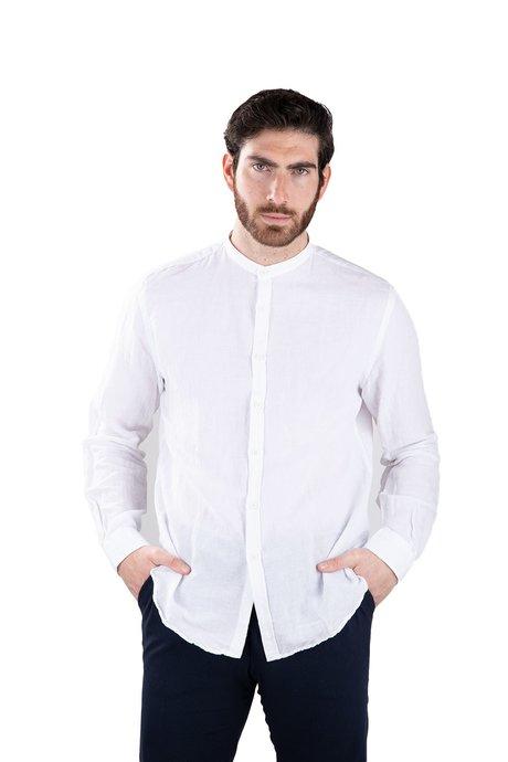 Mandarin shirt in linen