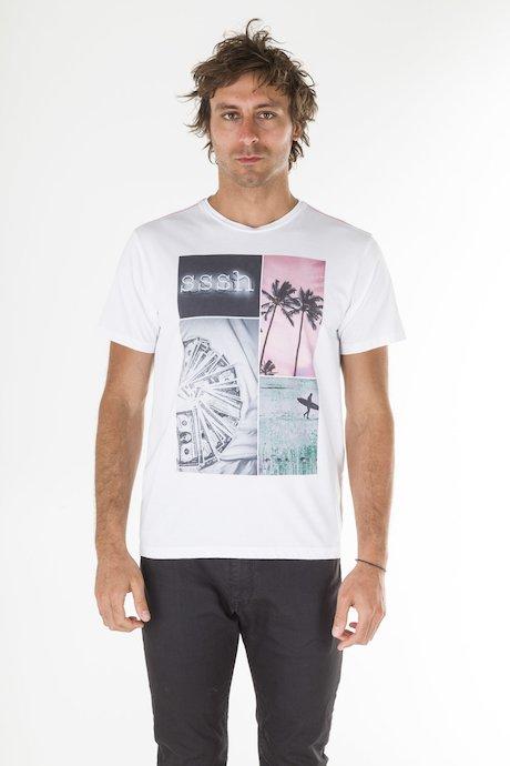T-shirt Stampa Vintage