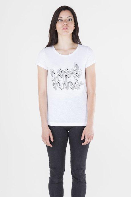 T-shirt con Stampa Fotosensibile
