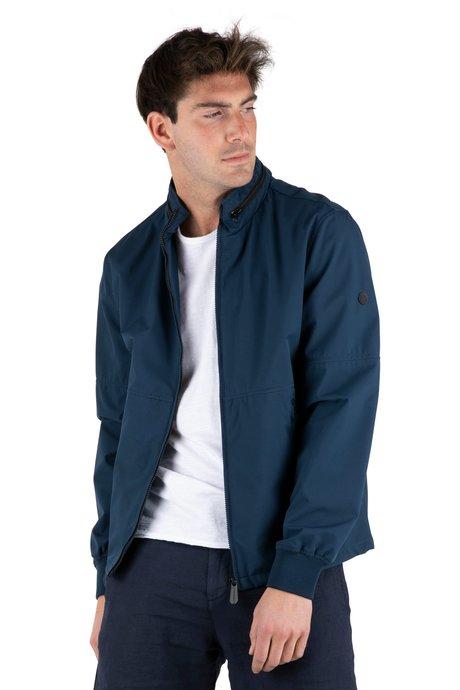 Jacket with hidden hood