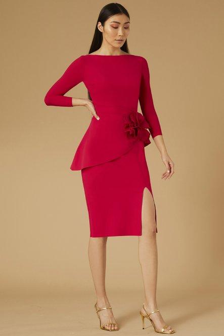 Oksana long sleeved Dress