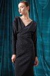 Chiara Boni USA - Saeko Dress - Hematite - Chiara Boni USA