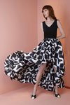 Chiara Boni USA - Rahel Dress - White And Black - Chiara Boni USA