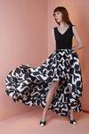 Chiara Boni USA - Rahel Dress - White And Black - Chiara Boni USA