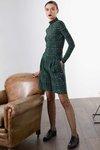 Chiara Boni USA - Joss Shorts - Madras Green - Chiara Boni USA