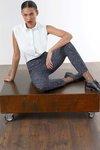 Chiara Boni USA - Nuia Printed Pants - Donegal Black - Chiara Boni USA