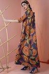 Chiara Boni - Kelis Dress - Paisley Blue - Chiara Boni