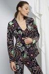 Chiara Boni - PRINTED GOLDIEAU JACKET - Oriental Rose - Chiara Boni