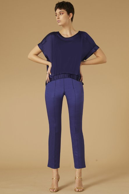 Pantaloni Nuccia in Raso