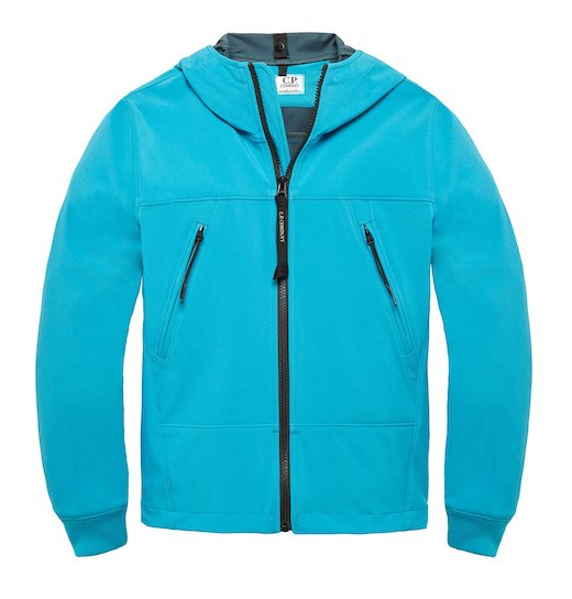 UNDER16 C.P. SOFT SHELL SS GOGGLE ZIP JACKET 10-14 YRS