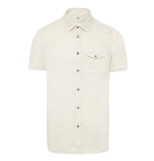 GD LINEN POCKET SS SHIRT