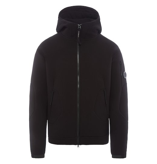 SCUBA FLEECE FULL ZIP HOODED SWEATSHIRT
