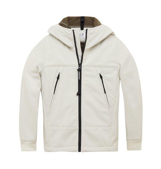 Under16 C.P. Soft Shell Goggle Full Zip Short Jacket 10-14 Yrs