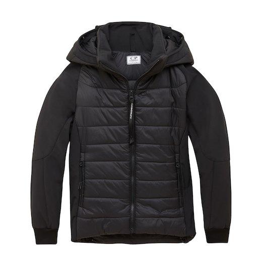 Under16 C.P. Soft Shell Mixed Goggle Full Zip Short Jacket 10-14 Yrs