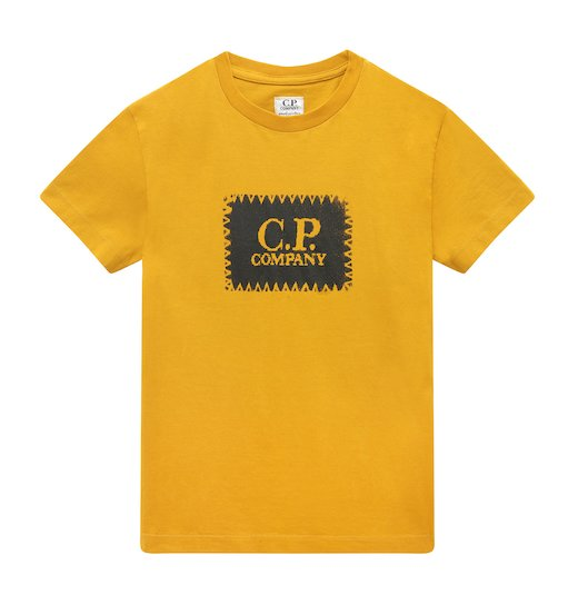 Under16 Cotton Jersey C.P. Label Print SS T Shirt 10-14 Yrs