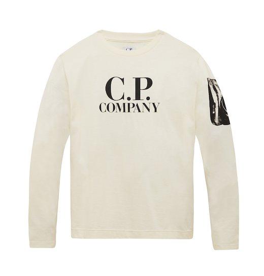 Under16 Cotton Jersey Logo Sleeve Print LS T Shirt 10-14 Yrs