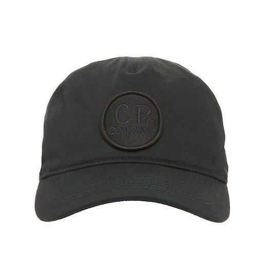 Cotton Gabardine Goggle Logo Cap