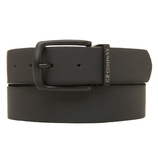 Rubber Leather Classic Belt