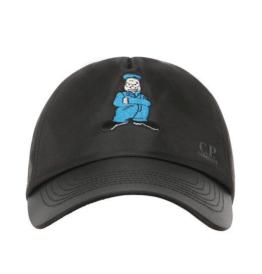 Nylon Sateen Comics Cap