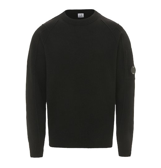 Lambswool Lens Crew Sweater