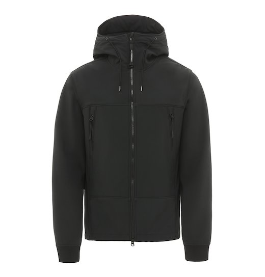 C.P. Soft Shell Goggle Full Zip Short Jacket