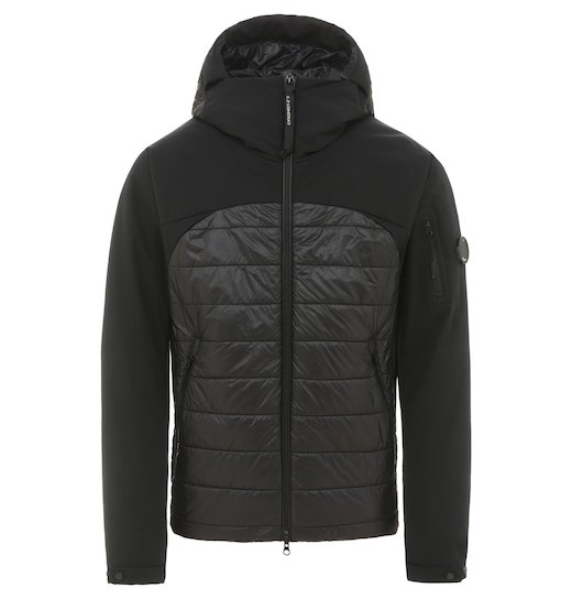 Pro-Tek Mixed Lens Full Zip Hooded Short Jacket