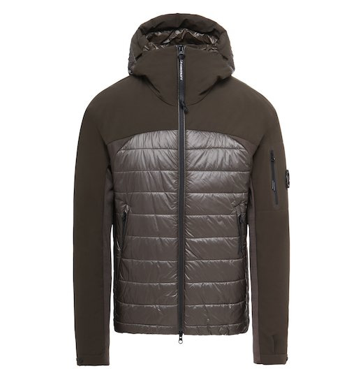 Pro-Tek Mixed Lens Full Zip Hooded Short Jacket