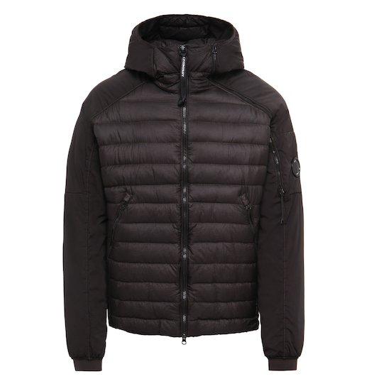 D.D. Shell GD Lens Down Full Zip Hooded Jacket