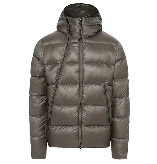 D.D. Shell Goggle Down Full Zip Puffy Jacket
