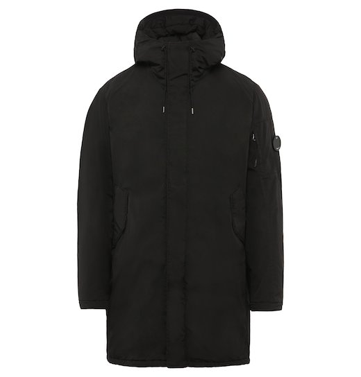 Nycra GD Lens Fishtail Parka Long Jacket