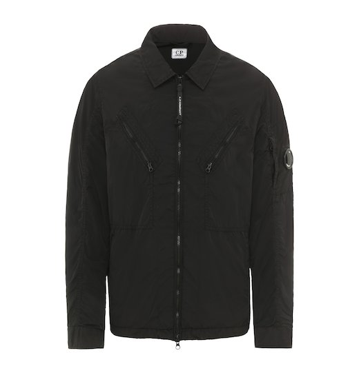 Chrome GD Lens Utility Zip Over Shirt Jacket