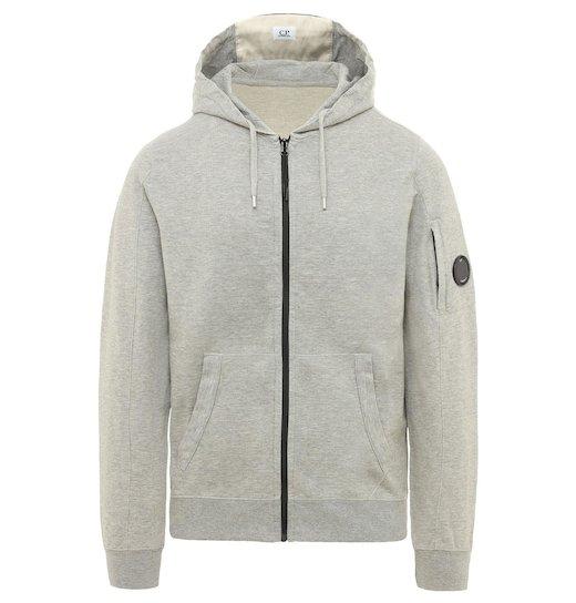 GD Lens Light Fleece Full Zip Hooded Sweatshirt