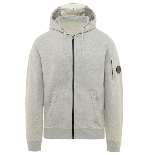 GD Lens Light Fleece Full Zip Hooded Sweatshirt