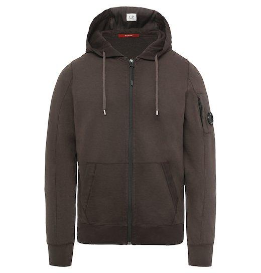 Re-Colour Lens Light Fleece Full Zip Hooded Sweatshirt