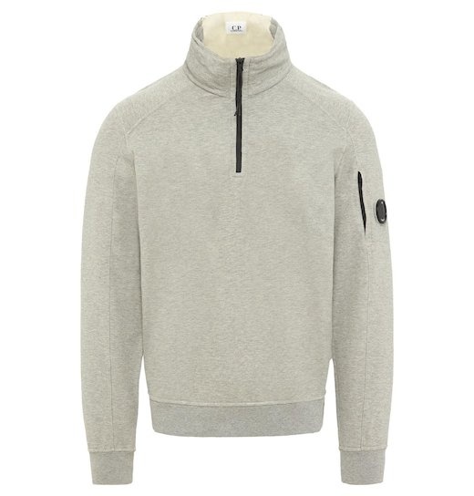 GD Lens Light Fleece Half Zip Sweatshirt