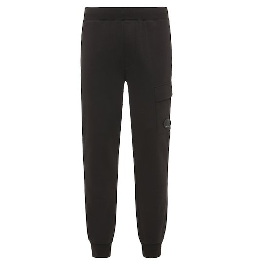 Diagonal Raised Fleece Lens Urban Track Pants