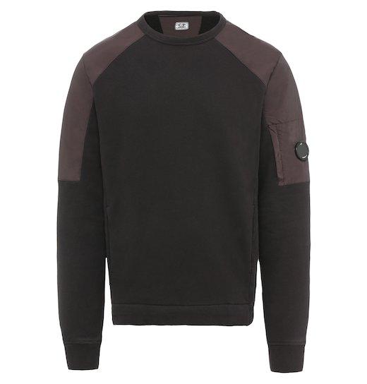 GD Emerized Fleece Mixed Lens Crew Sweatshirt