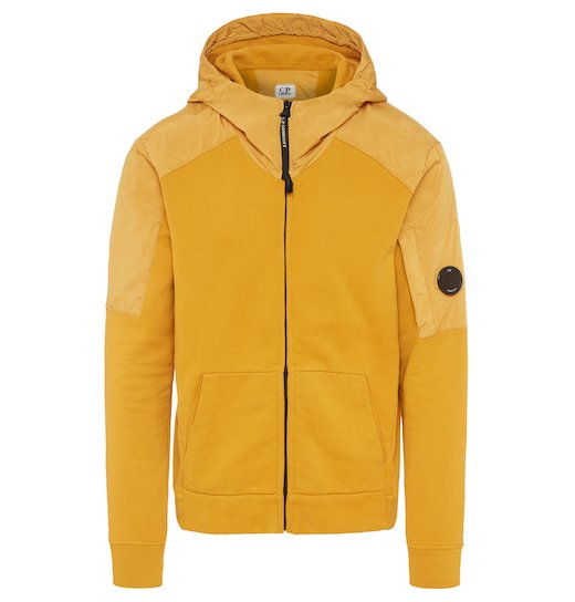 GD Emerized Fleece Mixed Lens Full Zip Hooded Sweatshirt