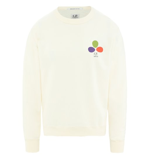 C.P. Company & Sergio Pizzorno 'The Mind's Eye' Cotton Jersey Sweatshirt