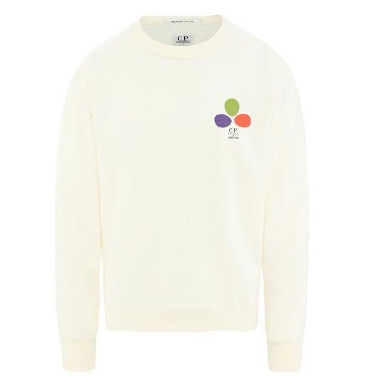 C.P. Company & Sergio Pizzorno 'The Mind's Eye' Cotton Jersey Sweatshirt