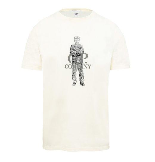 GD Cotton Jersey C.P. Sailor Print SS T Shirt