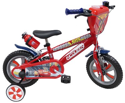 DISNEY CARS 3 LIGHTNING MCQUEEN, VÉLO 12